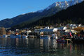 Queenstown Harbor Royalty Free Stock Images