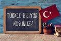 Question Do You Speak Turkish?...