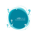 Question mark icon. Royalty Free Stock Photo