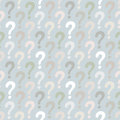 Question mark seamless pattern