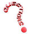 Question text Royalty Free Stock Images