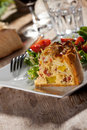 Quiche lorraine Stock Photography