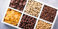Quick breakfast cereals Royalty Free Stock Photo