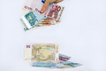 Quick euro it is not good to be economical money too fast Royalty Free Stock Photo
