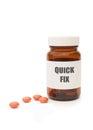 Quick fix pills Royalty Free Stock Photo