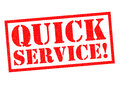 QUICK SERVICE!