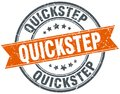 quickstep stamp Royalty Free Stock Photo