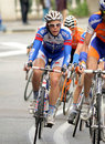 Quickstep's cyclist Belgian Julien Vermote Royalty Free Stock Images