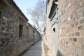 The Quiet Alley, south of China Royalty Free Stock Photo