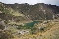 Quilotoa Lake Stock Photography