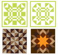 Quilt Blocks Stock Photography