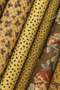 Quilt Fabric Royalty Free Stock Photography