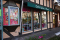 Quilt Shop Solvang, California Royalty Free Stock Image