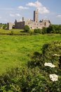 Quin abbey, famous in county clare, ireland Stock Photography