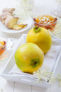 Quince delicious fruit from asia Royalty Free Stock Image