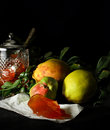 Quince Fruit and Quince Jelly Royalty Free Stock Photo