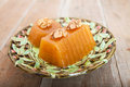 Quince Gelatin Dessert Royalty Free Stock Photo