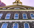 Quincy Market Freedom Trail Boston Massachusetts Royalty Free Stock Photo
