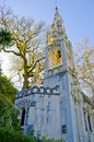 Quinta da regaleira chapel tower Stock Photography