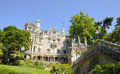 Quinta da regaleira is an estate located near the historic center of sintra portugal Royalty Free Stock Image