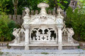 Quinta da regaleira palace in sintra lisbon portugal detail the park Royalty Free Stock Image