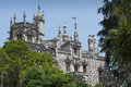 Quinta da regaleira in sintra portugal in the palace and the park are hidden symbols related to alchemy masonry the knights Royalty Free Stock Photography
