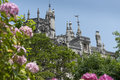 Quinta da regaleira in sintra portugal in the palace and the park are hidden symbols related to alchemy masonry the knights Stock Image