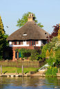 Quintessential thatched cottage Royalty Free Stock Image