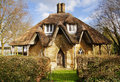 Quirky English Rural Cottage Royalty Free Stock Photo