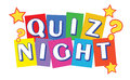 Quiz Night Banner Royalty Free Stock Photo