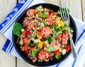 Qunioa salad Royalty Free Stock Photo