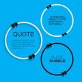 Quote bubble.