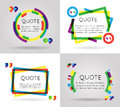 Quote Template Colorful Inform...