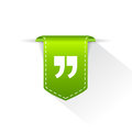 Quote text bookmark Royalty Free Stock Photo