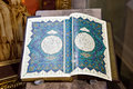 Quran. Ancient handwritten book Royalty Free Stock Photo