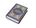 Quran muslim s holy book on white background Stock Photos
