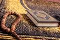 Quran and tasbih Royalty Free Stock Photo