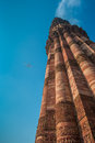 Qutub Minar tower, Delhi, India Stock Photos