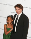 Quvenzhane Wallis and Benh Zeitlin Stock Photos