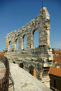 Römische Arena, Verona, Italien Stockbild