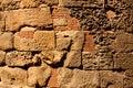 Römische Wand, Barcelona Lizenzfreie Stockfotografie