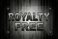 Raad van het royalty de vrije glas Royalty-vrije Stock Afbeelding