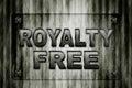 Raad van het royalty de vrije glas Stock Afbeelding