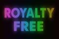 Raad van het royalty de vrije teken Royalty-vrije Stock Afbeeldingen