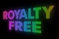 Raad van het royalty de vrije teken Stock Afbeelding