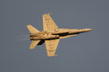 Raaf super hornet flying over canberra f a photo of an australian fa the day before skyfire this fighter jet was practicing it s Stock Image