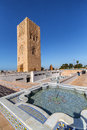 Rabat, Morocco - March 05, 2017: Hassan Tower in Rabat