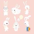 Rabbit characters set