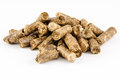 Rabbit feed pelletiert animal food Royalty Free Stock Photo