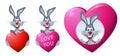Rabbit. Heart. Love.